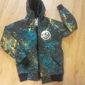 RARE Neff Custom Goods Snowboarding jacket